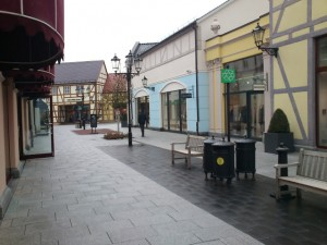 Geox-Outlet im Designer-Outlet in Berlin