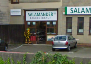 Der Salamander-Outlet in Hamburg-Wandsbek.